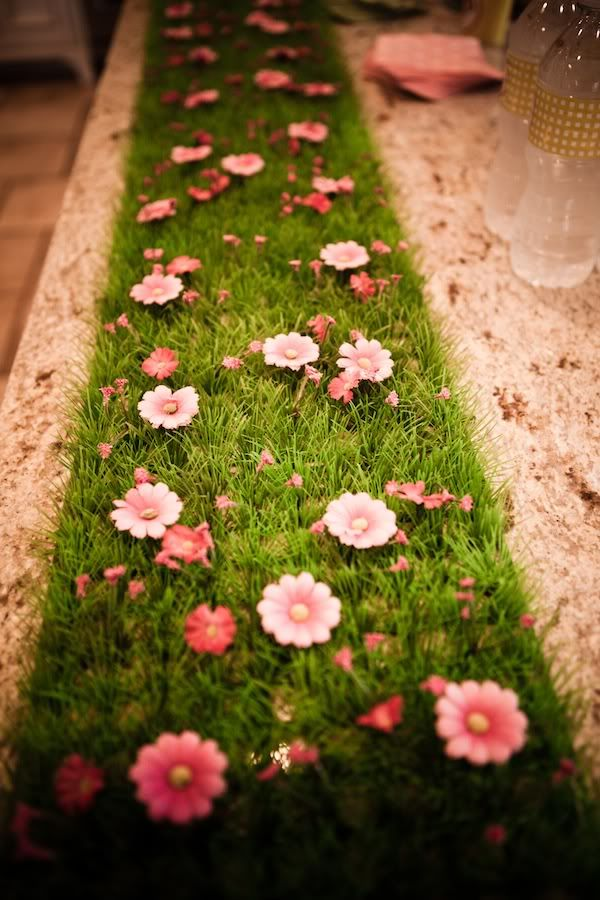 Fake Grass Table Runners 2m X 0 30 M With Or Without