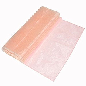 peach-organza-table-runner