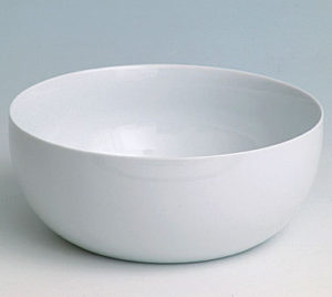 Big white salad bowls