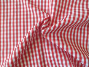 Red and white check overlay 1.5 x 1.5m