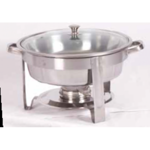 Chafing dish 2.5l with glass lid