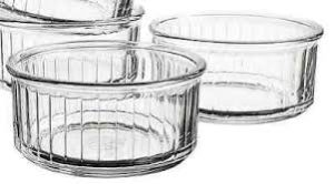 Glass ramekin
