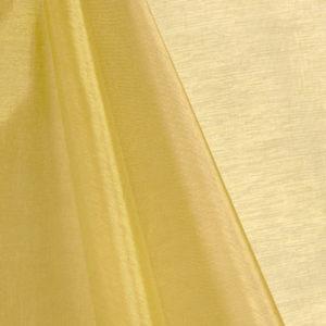 Gold organza table runner