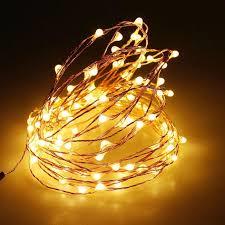 Copper string LED light 10m