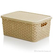 Cream baskets bread