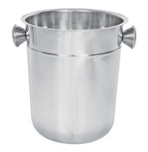 Steel ice bucket 1 litre