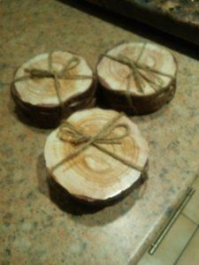 wood small logs 10cm